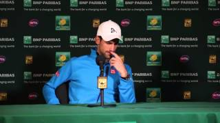 Novak Djokovic 4R Press Conference