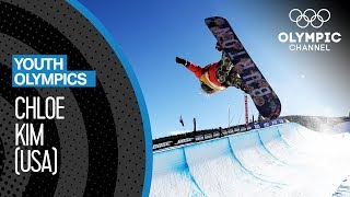 Chloe Kim - This girl has incredible Snowboard skills! | Youth Olympic Games