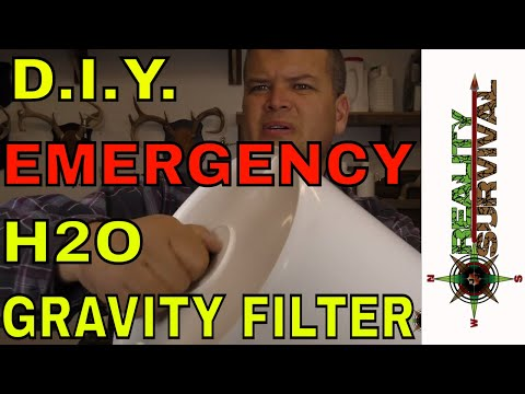 DIY Emergency Survival Water Filter