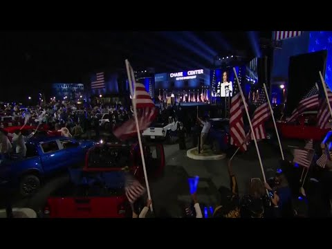 Kamala Harris sobre la «audacia» de Joe Biden al elegirla como vicepresidenta