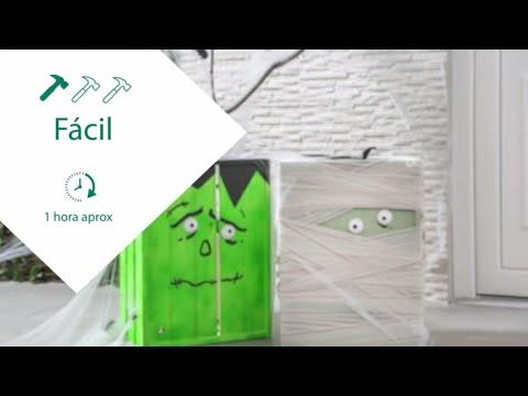Crea cajas decorativas para Halloween – LEROY MERLIN