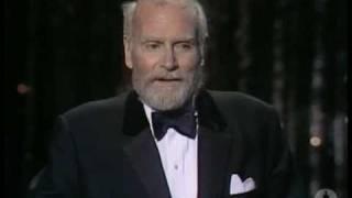 Sir Laurence Olivier receiving an Honorary Oscar®