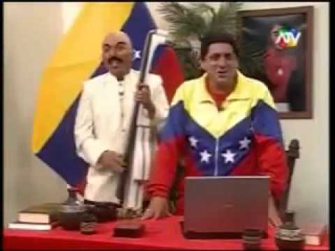 Hugo Chavez, Oscar D Leon y Shakira 2011