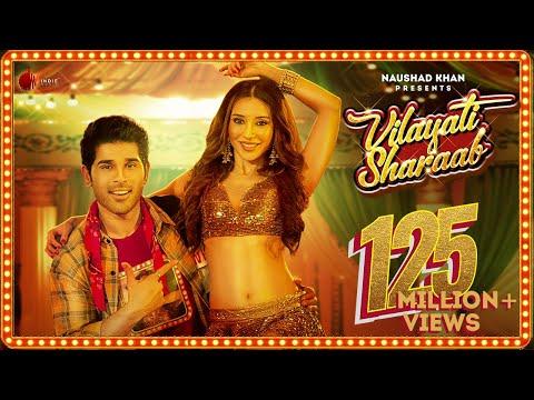 Allu Sirish shakes his leg with Heli Daruwala for Hindi single Vilayati Sharaab