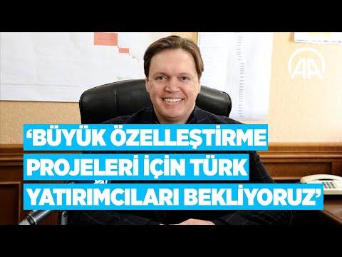 Senniçenko: Büyük özelleştirme projeleri için Türk yatırımcıları bekliyoruz