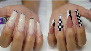 Incredible Acrylic Nail Ideas To Improve Your Beauty | The Best Nail Art Designs