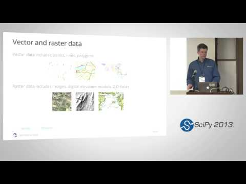 Image from Using Geospatial Data with Python, SciPy2013 Tutorial, Part 2 of 6