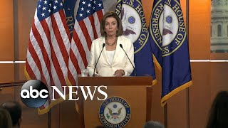 Pelosi responds to 'xenophobic' Trump tweets