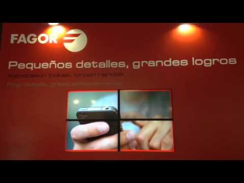 Video para Fagor Automation en la BIEMH2014