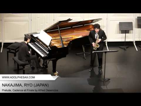 Dinant2014 NAKAJIMA Ryo Prelude, Cadence et Finale by Alfred Desenclos