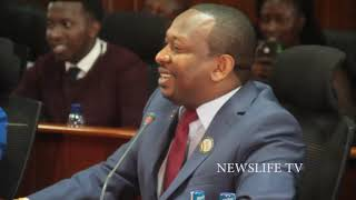 HILARIOUS,,,,PLEASE ALLOW ME TO GO FOR A SHORT CALL,,,,SONKO TO SENATE COMMITTEE ON DEVOLUTION,,,,