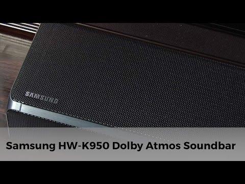 Samsung HW-K950 Dolby Atmos Soundbar Review