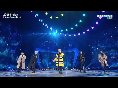 SECHSKIES - '컴백(COM' BACK)' + '세 단어(THREE WORDS)' + '커플(COUPLE)' in 2016 MELON MUSIC AWARDS