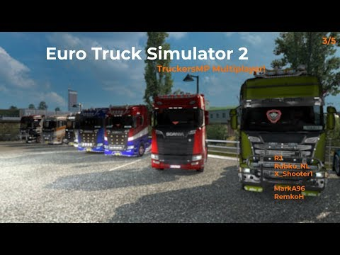Euro Truck Simulator 2  TruckersMP  Part 35 Livestream 02122017