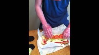 How to Make a B.M.T Subway sandwich