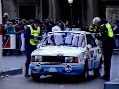 Lombard RAC Rally 1987 (škoda motorsport, český komentář Luděk Munzar)