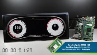 Toradex Apalis iMX8QM, NXP i MX 8QM, and more demos at EW2018 - Charbax