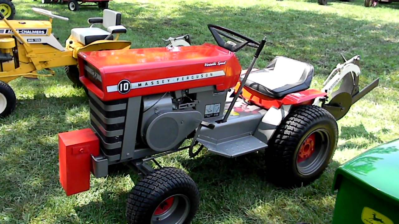 G Amp W Antique Lawn Amp Garden Tractors Youtube