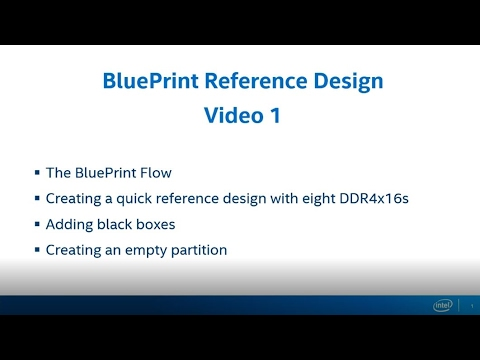 Blueprint Reference Design Part 2