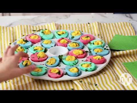 How to Make Easter Deviled Eggs   Easter Recipes   Allrecipes.com