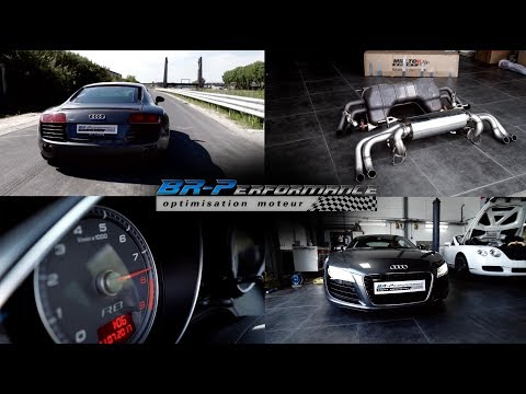 Audi R8 V8 4.2 FSi with Milltek Sport exhaust By BR-Performance