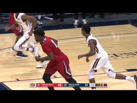 Murray State Win Over Detroit Mercy - MBB