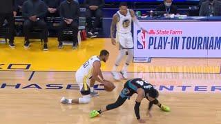 Steph Curry teaches Dillon Brooks a lesson & wins the NBA scoring title😮 GSW vs Grizzlies