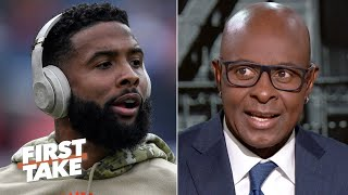 Jerry Rice: Odell Beckham Jr. and Baker Mayfield need to get on the same page | First Take
