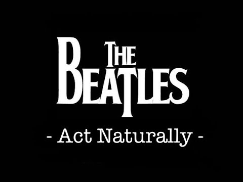 The Beatles - Act Naturally [Guitar Lesson/Tutorial/Cover With TAB]