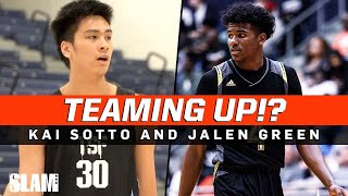 Kai Sotto and Jalen Green are TEAMING UP in the G LEAGUE!!