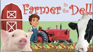 Farmer in The Dell [] Nursery Rhyme [] Kids Songs and Baby Rhymes from Sparky and Bosco