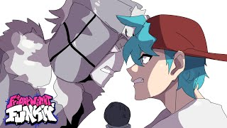 Friday Night Funkin' But It's Anime RUV Destroys BF │ FNF ANIMATION