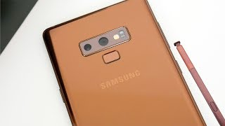 Samsung Galaxy Note 9 Metallic Copper Retail Unboxing & Impressions!