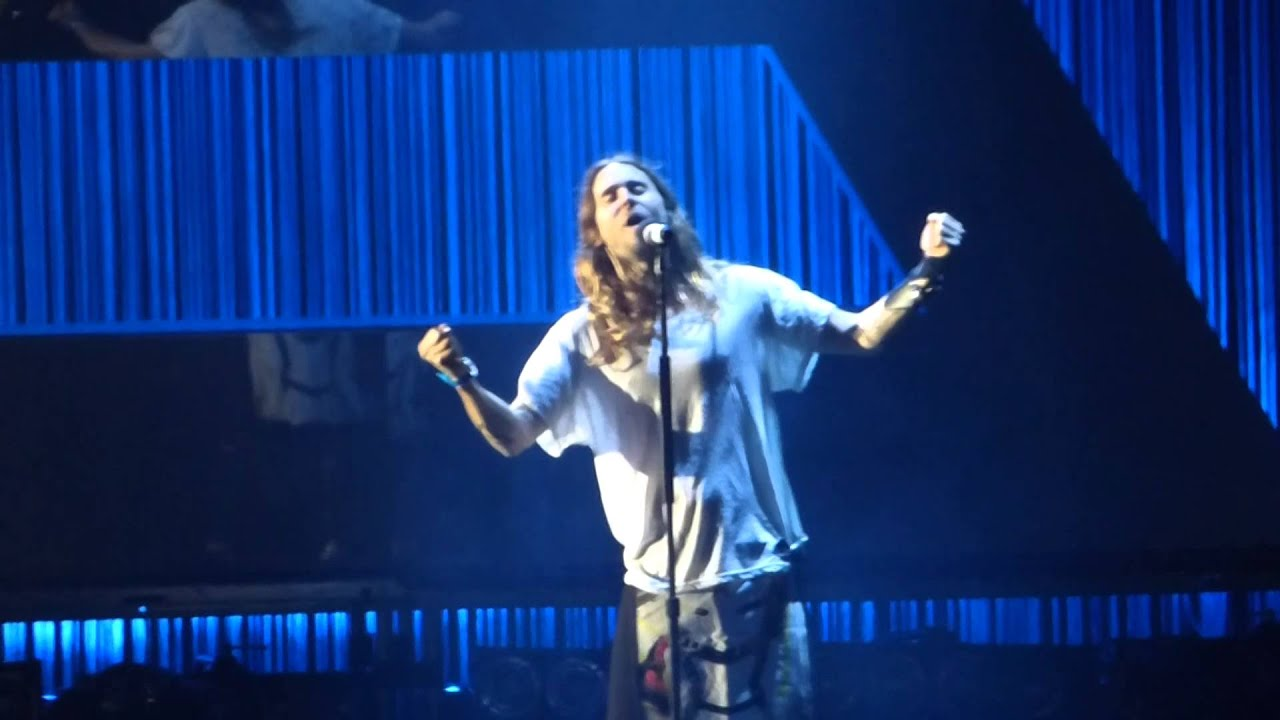 Concert 30 seconds to mars stay Lyon 14 février 2014 - YouTube