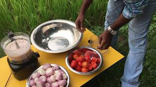 Cooking an Egg in an Egg - Cooking Quail Eggs in Chicken Eggs - A Different and Tasty Egg Dish