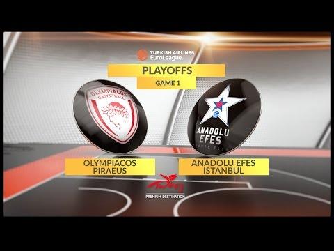 BC Olympiakos Piraeus vs Efes Anadolu Istanbul