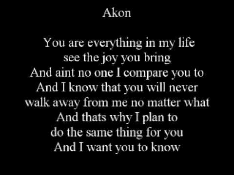 Akon ft  wilber pan   Be with you   Lyric