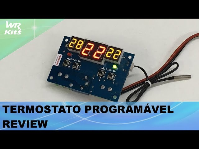 TERMOSTATO PROGRAMÁVEL (REVIEW)