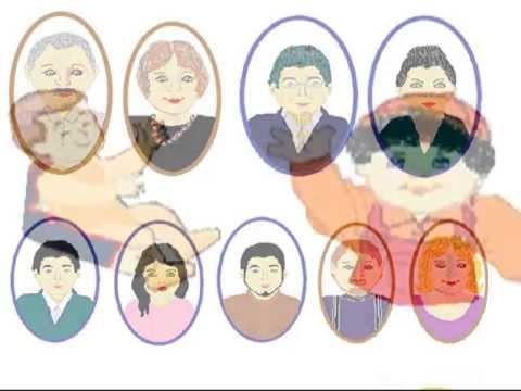 Cuentos para niños: La abuelita me habla de mi familia