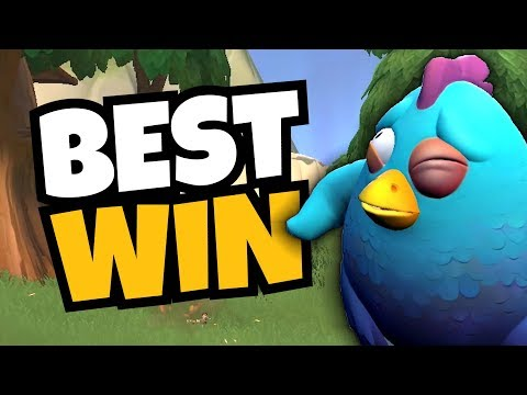 Crown Royale AS A CHICKEN! [Realm Royale]