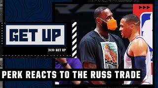'LeBron James needs Russell Westbrook' - Kendrick Perkins reacts to the Lakers trade | Get Up