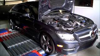 NEW CLS550 Bi-Turbo: ECU Tune Dyno Results - Version 1 - YouTube