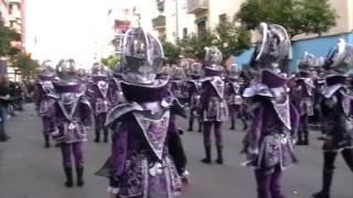 Los Pirulfos en el desfile de 2017