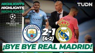 Highlights | Man City 2-1 Real Madrid | Champions League 2020 - Octavos de final | TUDN