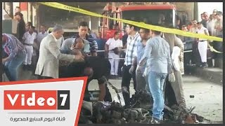 بالفيديو.. إزالة بقايا السيارة المنفجرة أمام القنصلية الإيطالية     -