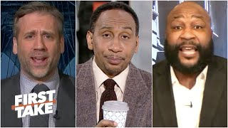 First Take gets heated during an Aaron Rodgers debate | First Take