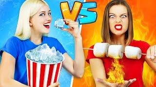 THỬ THÁCH CÔ NÀNG NÓNG VS CÔ NÀNG LẠNH || Trò đùa và mánh khóe ngoạn mục  Lửa vs Băng của RATATA!
