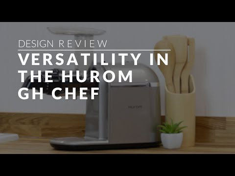 video Hurom GH – Chef Horizontal Juicer