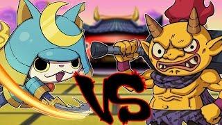 Yo-Kai Watch - Legendary Battle - JohneAwesome VS Munchingorange