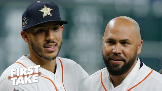 MLB doesn't know how to punish players for cheating scandal – Jessica Mendoza | First Take